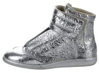 Maison Margiela Future Metallic Sneakers