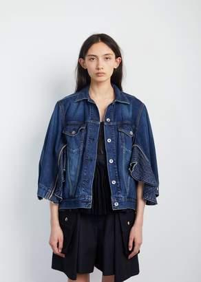 Sacai Denim Jacket Blue