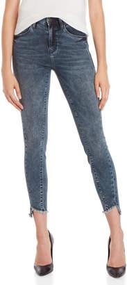 Mavi Jeans Tess Twisted High-Rise Skinny Jeans