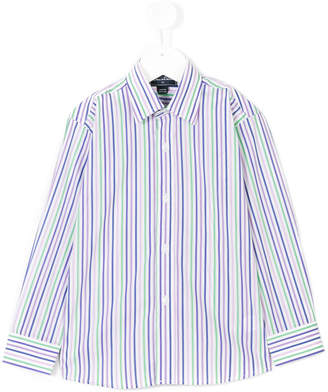 Oscar de la Renta Kids TEEN striped dress shirt