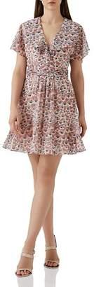 Reiss Aime Floral Print Dress