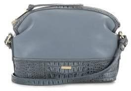 Brahmin Haley Natural Sedona Leather Crossbody Bag