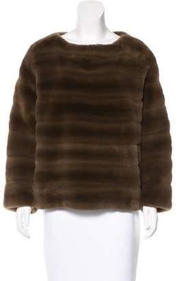 J. Mendel Sheared Mink Sweater