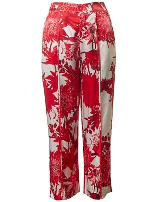 Saint Tropez Flower Print Trousers
