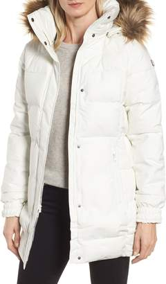 Helly Hansen Blume Waterproof Parka with Faux Fur Trim