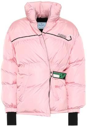Prada Quilted nylon down coat