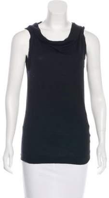 Donna Karan Sleeveless Cashmere & Wool-Blend Top