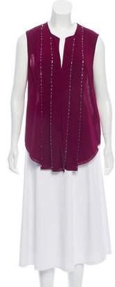 3.1 Phillip Lim Embellished Silk Top