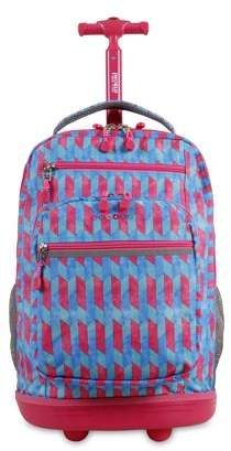 J World JWorld Sundance Laptop Rolling Backpack