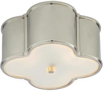 Visual Comfort & Co. Basil Flush Mount - Nickel