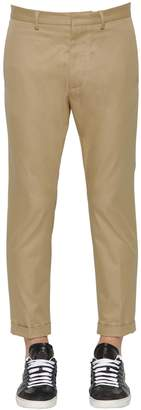 DSQUARED2 Hockney Fit Cotton Twill Chino Pants