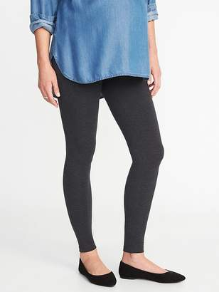 Old Navy Maternity Front Low-Panel Leggings