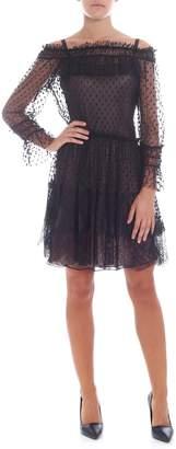 Alberta Ferretti Voile Dress