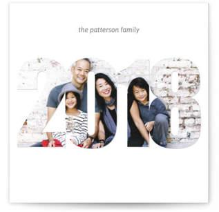 Simple 2018 Photo Card Custom Selflaunch Stationery