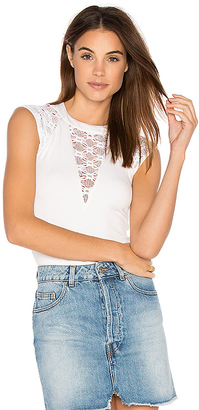 Bailey 44 Yuca Top in White $158 thestylecure.com