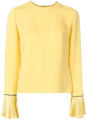 Roksanda wide cuff blouse