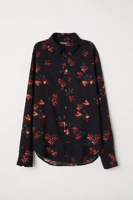 H&M Viscose Shirt - Black