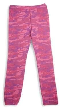 Monrow Girl's Camouflage Sweatpants