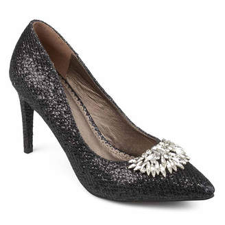 Journee Collection Womens Albie Pumps Slip-on Pointed Toe Stiletto Heel