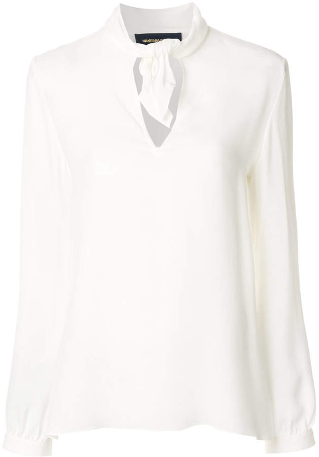 Vanessa Seward neck-tie blouse