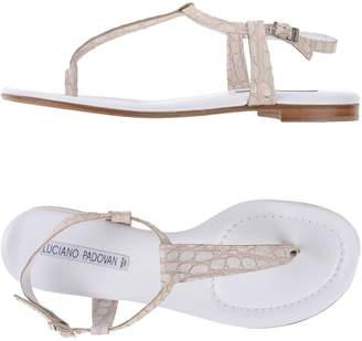 Luciano Padovan Toe strap sandals