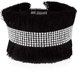 GUESS Crystal Magnetic Stretch Bracelet