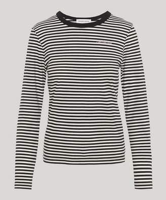 Maison Labiche Romance Stripe Long-Sleeve T-Shirt