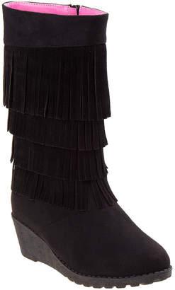 KensieGirl Girls' Fringe Boot