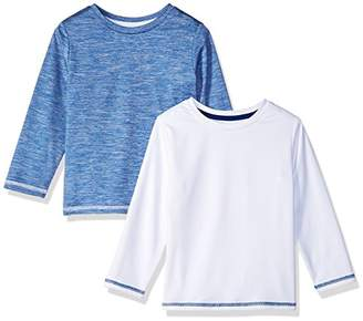 Amazon Essentials Boys' 2-Pack Long-Sleeve Basic Active Tee