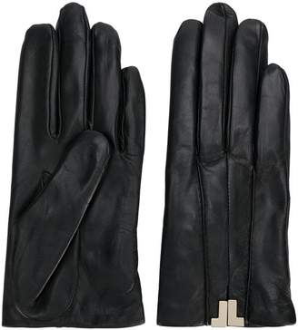 Lanvin classic fitted gloves