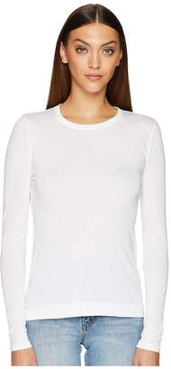 ADAM by Adam Lippes Long Sleeve Crew Neck Core Tee Women's T Shirt