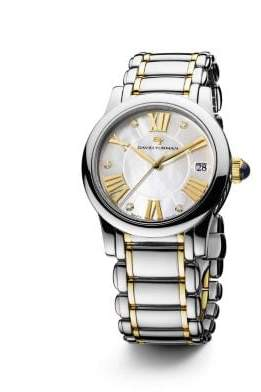 David Yurman Classic 34Mm Stainless Steel And 18K Gold Quartz Watch