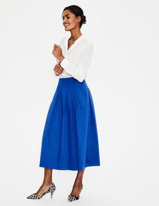 Boden Theodora Pleated Skirt