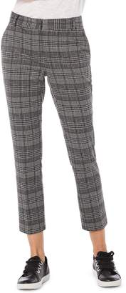 Michael Stars Plaid Ponte Pants