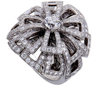 Chanel 18K 3.58 Ct. Tw. Diamond Ring