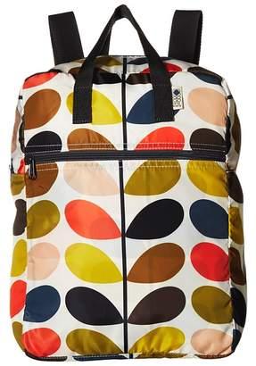 Orla Kiely Multi Stem Packaway Backpack Backpack Bags