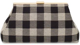 Mansur Gavriel Mini Volume Checker Clutch Bag