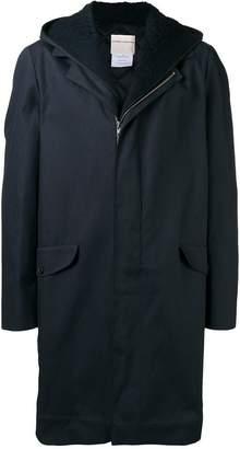 Stephan Schneider hooded mid-length coat