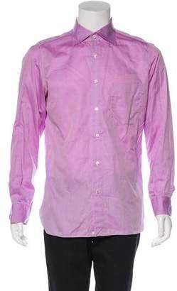 Isaia Woven Dress Shirt