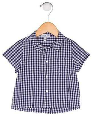 Baby CZ Boys' Short Sleeve Shirt