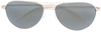 Oliver Peoples 'Benedict' aviator sunglasses