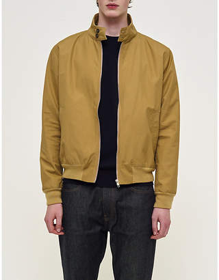 Community Clothing Mens Khaki Waterproof Cotton Harrington Jacket