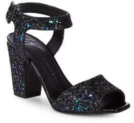 Giuseppe Zanotti Block Heel Ankle-Strap Sandals