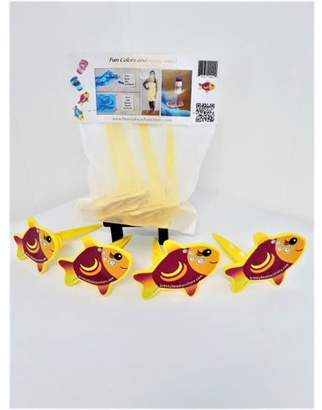 4 Pack Breezy Beach Anchors Beach Towel Clips Blanket Clips Drink Holder Zippered mesh bag Picnics, Camping, Fishing, A Must Have!