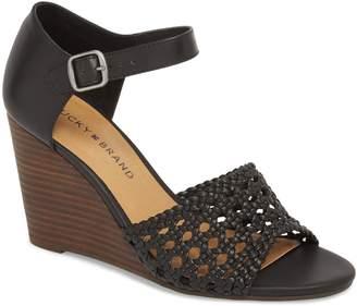 Lucky Brand Rabekka Wedge Sandal