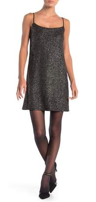 Cynthia Steffe CeCe by Mia Sleeveless Foiled Textured Dress