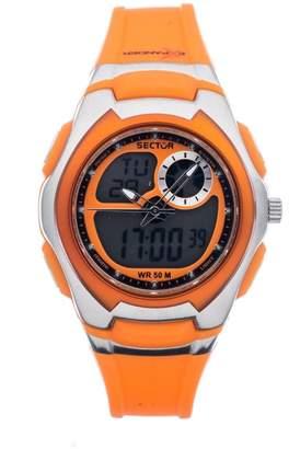 Sector Street Fashion Women's 38mm Chronograph Orange Plastic Watch R3251172038