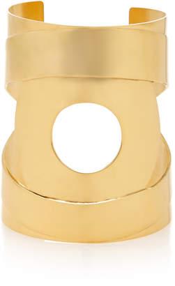 Kalmar Gold-Plated Brass Cuff