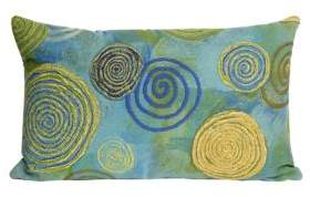 Visions III Graffiti Swirl Indoor and Outdoor Pillow