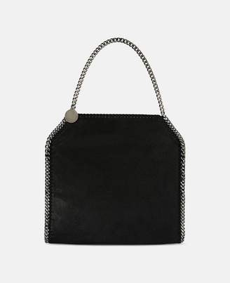 Stella McCartney Black Black Falabella Shaggy Deer Small Tote, Women's, Size OneSize